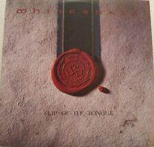 WHITESNAKE - SLIP OF THE TONGUE - LP - CANADA - 80s GLAM HEAVY METAL-  oop  L@@K