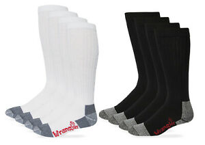 Wrangler Riggs Mens Workwear Tall Cushion Cotton Over the Calf Boot Socks 4 Pack