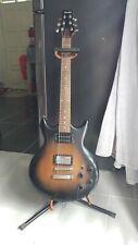 Ibanez GIO costum guitar, wood brown