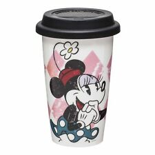 Minnie Mouse Ceramic Coffee Travel Mug