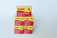 Kodak Color Plus 200 35mm 36exp (5 Pack)