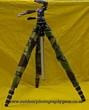 Protective Tripod Cover quick easy camouflage & protection, Wildlife photography