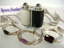 The Original SPOON BENDER,Make Beautiful Silver & Gemstone Bracelets from SPOONS