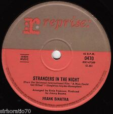 FRANK SINATRA Strangers In The Night / Oh, You Crazy Moon  45