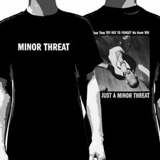 MINOR THREAT - Just A:T-shirt - NEW - YOUTH LARGE ONLY