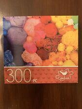 Cardinal 300 Piece Jigsaw Puzzle Rainbow Yarns 14x11