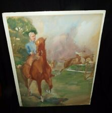 JOHN W. DUNN 1930's ORIGINAL WATERCOLOR 1932 OLYMPICS PAINTING COMPETITION #2