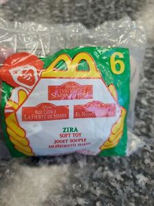1998 MCDONALDS LION KING 2 SIMBAS PRIDE ZIRA SOFT TOY ITEM # 6 IN SEALED BAG