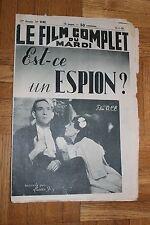 Le film complet du mardi - N°2183 - Est ce un espion ? - Lucien Ray