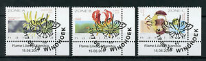 Namibia 2017 CTO Flame Lilies 3v Set Lily Flora Flowers Stamps