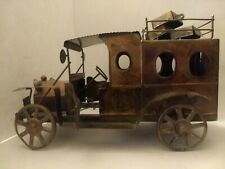 Vintage  00004000 Copper Model T Music Truck Door Opens and Closes With Music