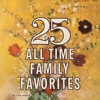 25 All Time Family Favorites - Various Artists -  Vinyl LP  - VG+
