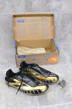 Brooks Sprint 10.45 Cleats Usa Size 11 Gold/Black Zip Over LacesNew Open Box