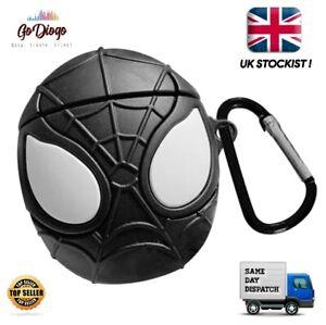 Novelty Marvel Spider-man Spiderman case for Apple Airpod 1/2  UK STOCK/SELLER