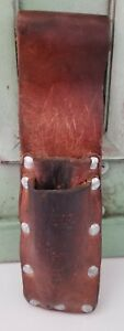 Jameson Brand Leather Pouch-Perfect For Gardening Tools, Attaches To Belt-READ