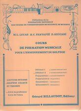 Cours de formation musicale - Solfège chanté et théorie. Débutant 2. Livre du pr
