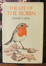 The life of the robin by David Lack 1965 Hardback with dust jacket Wildlife bird