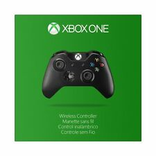 Official Microsoft Xbox One Black Wireless Controller w/Headphone Jack EX6-00001