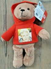 More details for rare 2012 one direction 1d i-star teddy bear in hoodie niall horan collectable w