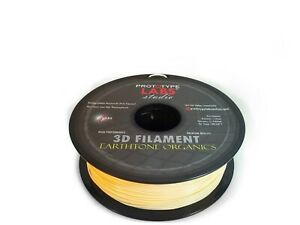 PLA 3D Printing Filament Birch Wood DIY Maker - 1.75mm 2.2LBS Prototype Labs