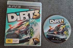 Dirt 3 Sony PS3 Playstation 3 Free Postage