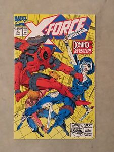 X-Force 11 First Appearance Of Domino