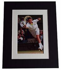 Richard Krajicek Signed Autograph 10x8 photo display Tennis Sport AFTAL & COA