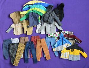 """1/6 Scale Action Figure Bulk Bundle Various Clothes 12"""" Enterbay Ken Hot Toys"""