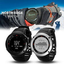 NORTH EDGE Outdoor Intelligent Sports Watch Compass Digital Temperature Black