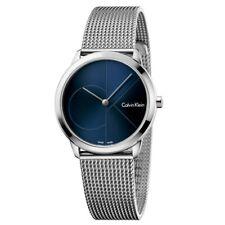 Reloj Calvin Klein Mujer Minimal K3M2212N acero esfera azul