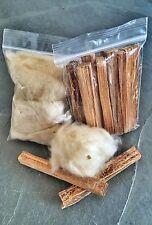 Kapok & Fat Wood/Maya Tinder Kit --Fire Bushcraft Supplies