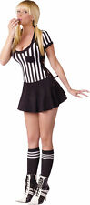 Racy Referee Sexy Adult Costume - Women's Size M/L (10-14)- Fantasy by Fun World