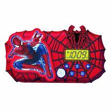 NEW The Amazing Spider-Man 2 Alarm Clock Sleep Timer Night Light Glow Spiderman