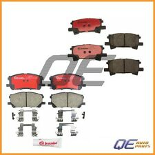 Front & Rear for Lexus RX330 RX350 RX400h Disc Brake Pad Sets Brake Kit Brembo