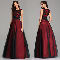 Ever-Pretty Woman Long Bridesmaid Evening Party Dress Maxi Prom Ball Gowns 07545