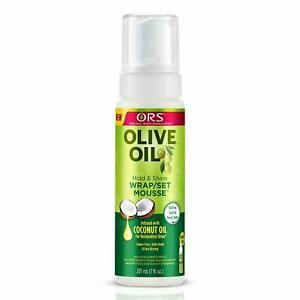 ORS Olive Oil Wrap Set Mousse Styling Lotion 207 ml/7 fl.oz.