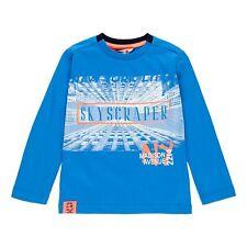 Boboli Neu Jungen Langarmshirt Longsleeve Shirt Gr. 128 140 152 Nr. 501028
