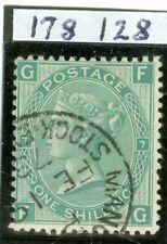 SG 117 1/Piastra - 7. USATA in perfetta condizione infatti. una pungente Manchester Borsa.