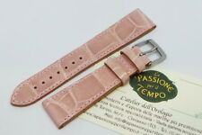 Watch Strap Alligator Pink Made IN Italy 0 25/32in Handmade Veritable New
