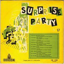 "COMPILATION ""SURPRISE PARTY N° 17"" POP LATIN JAZZ 50'S 25 CM ODEON 1096"