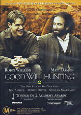 Good Will Hunting - Drama - Robin Williams, Matt Damon - NEW DVD