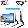 max.37 Inch TV Stands For Flat Screens Universal Table Base Top LED LCD Plasma