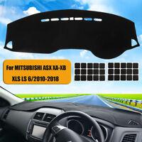 Car Dashboard Cover Dash Mat For MITSUBISHI ASX XA-XB XLS LS 6/2010-2018