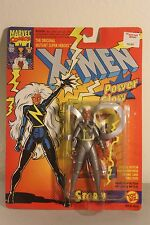 Toy Biz X-Men Storm Figure 1993 With Power Glow New Sealed MISP Silver Costume