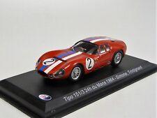 Maserati Tipo 151/3 24h du Mans 1964 Whitebox WBS044 1/43