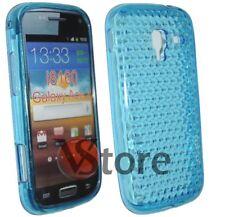 Cover Custodia Gel TPU Azzurro Per  SAMSUNG GALAXY ACE 2 i8160 silicone