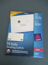 "Avery Easy Peel Address Label - 2"" Width X 4"" Length Permanent 250 / Box"