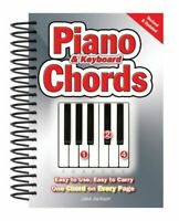 Piano & Keyboard Chords Easy-to-Use, Easy-to-Carry, One Chord o... 978085775
