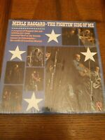 MERLE HAGGARD - THE FIGHTIN' SIDE OF ME - 1970 LP VINYL RECORD SHRINK WRAP