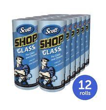 Scott Glass Towels, Blue, 12 Rolls (KCC32896)